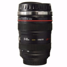 Harga Cup Lensa Kamera 24 105 Kopi Teh Cangkir Perjalanan Stainless Steel Termos New Internasional Murah