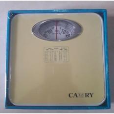 Spesifikasi Camry Original Timbangan Badan Manual Model Terbaru 120 Kg Murah Berkualitas