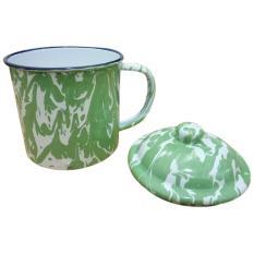 Cangkir Mug Blurik Vintage Style Blirik Enamel Jaman Now 12cm