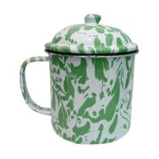 Cangkir Mug Blurik Vintage Style Blirik Enamel Jaman Now 9cm