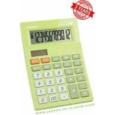 Spesifikasi Canon Calculator As 120V Kalkulator 12 Digit Tenaga Baterai Matahari Lime Green Dan Harga