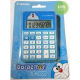 Harga Canon Calculator Doraemon Lc 100T Kalkulator 10 Digit Fungsi Overflow Kalkulasi Pajak Canon Online