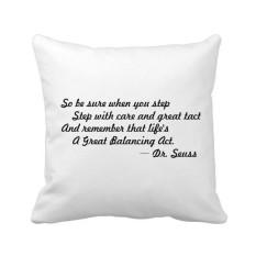 Perawatan dan Kebijaksanaan Yang Memberi Anda Keseimbangan Kehidupan Kutipan Bantal Bantal Sarung Bantal Sofa Rumah Dekorasi