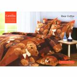 Diskon Carmina Sprei Set Bear Coffee Single Size 120X200 Akhir Tahun
