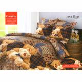 Harga Carmina Sprei Set Java Bear Single Size 120X200 Termahal