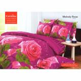 Carmina Sprei Set Melody Rose Single Size 120X200 Carmina Diskon 40