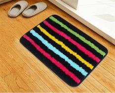 Karpet Rumah Mesin Tenun Mesin Cuci Microfiber Dapur Kamar Mandi Kamar Mandi Tempat Tidur Tempat Tidur Pintu Depan Kaki Anti-selip Pad, 40*120 Cm Yang Pack-Intl
