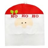 Spesifikasi Kartun Penutup Kursi Natal Pasokan Tabel Dekoratif Hadiah Putih Santa Claus Intl Paling Bagus