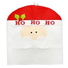 Spesifikasi Kartun Penutup Kursi Natal Pasokan Tabel Dekoratif Hadiah Putih Santa Claus Intl Beserta Harganya