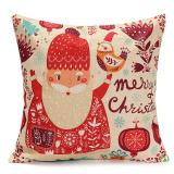 Toko Gambar Kartun Selamat Natal Santa Pinggang Sarung Bantal Sofa Sarung Bantal Dekorasi Rumah Internasional Lengkap Di Tiongkok