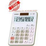 Review Tentang Casio Calculator Mx 12B Kalkulator 12 Digit Tenaga Baterai Matahari White
