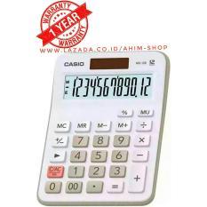 Casio Calculator Mx 12B Kalkulator 12 Digit Tenaga Baterai Matahari White Casio Diskon 30