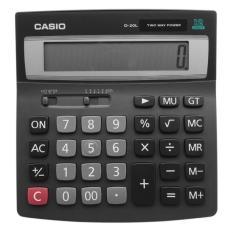 Spesifikasi Casio D 20L Calculator Kalkulator Lengkap