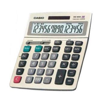 View Product · Casio Kalkulator 16 Digit DM-1600 Original