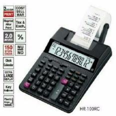 Harga Casio Kalkulator Calculator Hr 100Rc Hr100Rc Print Printing Struck Struk Ori Original Foto Asli Yang Bagus