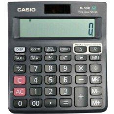 Beli Casio Kalkulator Mj 120D Hitam Pakai Kartu Kredit