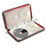 Jual Cd Dvd Case Penyimpanan Tas Dompet Pemegang Merah Original