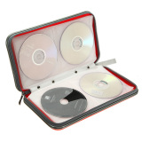 Harga Cd Dvd Case Penyimpanan Tas Dompet Pemegang Merah Paling Murah