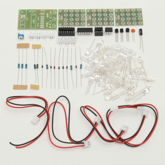 Spesifikasi Cd4017 Ne555 Modul Strobo Produksi Elektronik Suite Dibetulkan Kit Elektronik Pembelajaran Murah Berkualitas