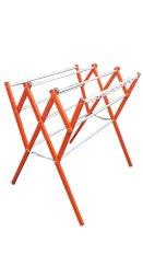CeCe Jemuran Baju Aluminium Minimalis 1 meter - Oranye