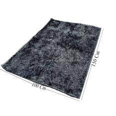 Beli Cendra Karpet Cendol Glossy 100X150 Cm Silver Lengkap