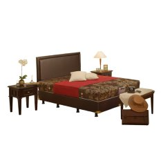 Jual Central Springbed Deluxe Calista Kotak Full Set Uk 160X200 Grosir