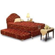 Spesifikasi Central Springbed Deluxe Legend Florida 2In1 Full Set Size 120 X 200 Yang Bagus Dan Murah