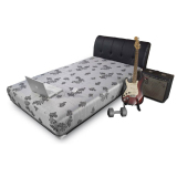 Jual Central Springbed Silver Sporty X1 Full Set Uk 140X200 Central Online