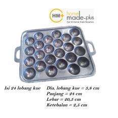 Toko Cetakan Kue Poles Takoyaki Isi 24 Lobang Cetak Alumunium Cor Lengkap Di Jawa Barat