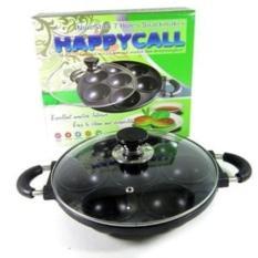 Cetakan Kue Teflon 7 Lubang Bulat Big Takoyaki Dorayaki Bika Ambon - 67Zezp
