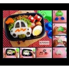 Cetakan Nasi  Cetakan Roti Bento Roti Sandwich Cutter Mobil Car Cars Rice Mold Bread Tumpeng Anak