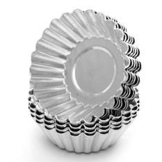 Cetakan Pie Egg Tart Pai Bahan Aluminium Tebal Anti Mleot Loyang Spuit