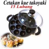 Beli Barang Cetakan Takoyaki Cetakan Kue Cubit Anti Lengket 15 Lubang Online