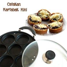 Cetakan terang bulan martabak mini / kue lumpur / pancake anti lengket - hitam