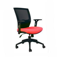 Chairman Modern Chair Kursi Kantor - MC 1403 - Merah C25