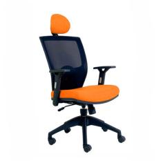 Chairman Topstar Series Kursi Kantor - TS01401 - Orange C33 - Khusus JABODETABEK