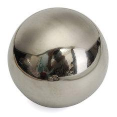 Beli Channy 5 Bola Kaca Stainless Steel Ornamen Dekorasi Taman Rumah 10 Cm Baru Internasional Terbaru