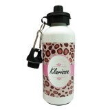 Model Char Coll Alumunium Bottle Free Custom Name Leopard Terbaru