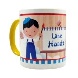 Jual Char Coll Personalisasi Mug Artist Boy Any Name Original