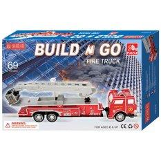 Jual Beli Online Charmland Fire Truck Puzzle 3D