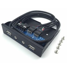 Harga Cheer 3 5 2 Usb 2 Port Hub Hd Audio Output Floppy Drive Ekspansi Panel Depan Intl Oem Tiongkok