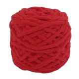 Spesifikasi Cheer Super Red Eco Friendly Diy Syal Sweater Coat Towel Rompi Polyester Tebal Benang Super Red Intl Bagus
