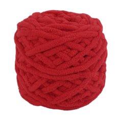 Cheer Super Red Eco Friendly Diy Syal Sweater Coat Towel Rompi Polyester Tebal Benang Super Red Intl Oem Diskon 50