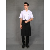 Spek Chef Series Basic Half Panjang Apron Hitam Indonesia