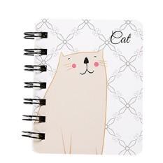 Anak-anak Cute Animal Paper Halaman Kosong Notebook Buku Catatan Jurnal Diary Notepad B-Intl