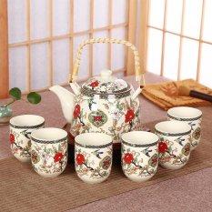 China Keramik Porselen Cina Kung Fu Tea Set, Jingdezhen Keramik Besar Teko Teh, 7