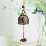 Buddha Cina Ikan Feng Shui Bell Berkat Tuah Lucky Number Gantungan Lonceng Angin Intl Terbaru