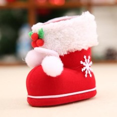 Christmas Festival Kids Baby Gifts Candy Boots Gift Box Bag Home Garden