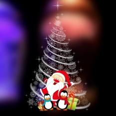 Christmas Tree Removable Furniture Vinyl Window Wall Sticker Decoration - intl