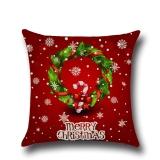 Jual Rusa Natal Pohon Natal Santa Bantal Sarung Bantal Dekorasi Rumah Hadiah